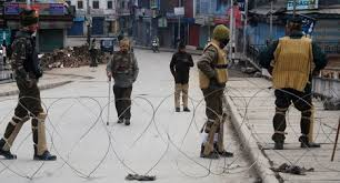 Restrictions and Shutdown Paralyzed life in Kashmir………..