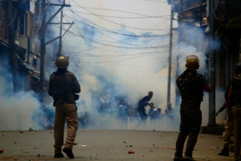 Pulwama shuts against use of force on protesters during clashes…….
