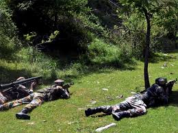 Tral Encounter Update: Gunfight Still on 2 Militants believed to be killed so far, 4 to 5 still believed to be trapped insde………