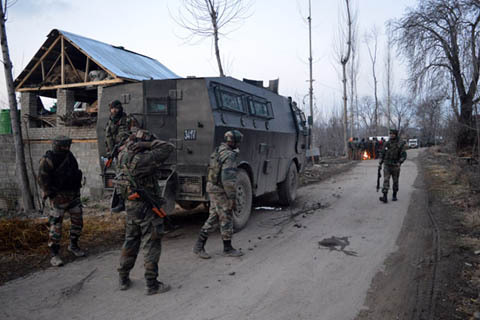 Hizbul-Mujahideen Claims responsibility of Attack in Shopain that left Army Major, Soldier Dead……….