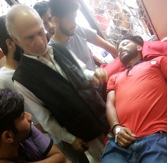 Union President of Bhaderwah beaten by Cops, Massive Protests, inquiry ordered in that Case………..