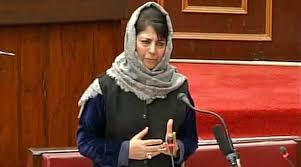 Mehbooba Seeks Freedom For 'Caged' Kashmiris, Bats for Opening of Routes………