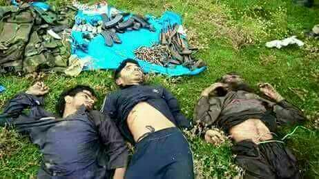 Tral Encounter Update: Three Jaish-e-Mohammad Militants killed in gunfight, Encounter Over………..