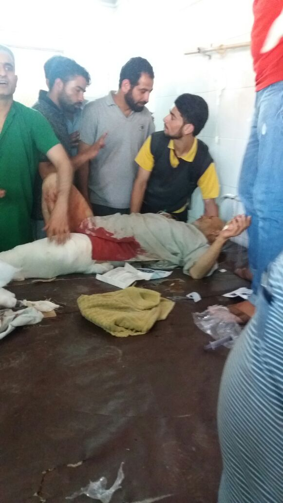 Civilian injured after army allegedly opens fire in Bijbehara………
